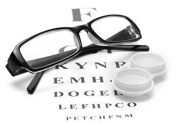 oculare si lentilele de contact