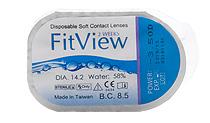 FitView 2 Weeks 6 buc. + Lentile de contact GRATIS (la 2 cutii)