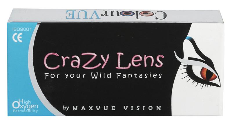 Crazy Lens UV Glow 2 pcs - UV-lentile stralucitoare