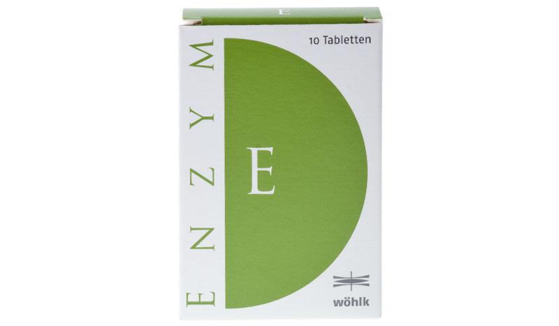 Wöhlk Enzym 10 tablete
