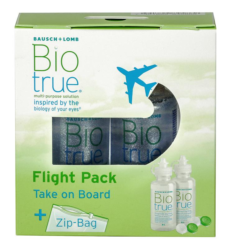 Biotrue® Flight Pack 2 x 60 ml
