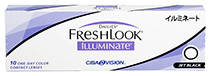 Dailies® FreshLook® Illuminate™ Jet Black 10 buc.