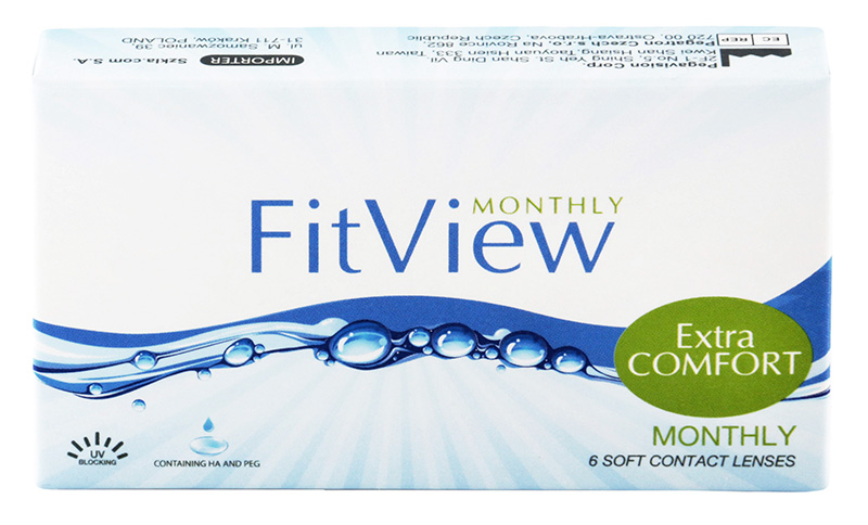 FitView Monthly 3 buc.