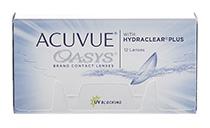 Acuvue Oasys 12 buc. + gratuit solutia CLEAN ACTIVE PREMIUM XXL 100 ml (la 2 cutii)