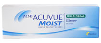 1-DAY ACUVUE® MOIST MULTIFOCAL 30 buc.