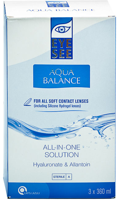 Aqua Balance cu hialuronat si Alantoina 3 x 360 ml