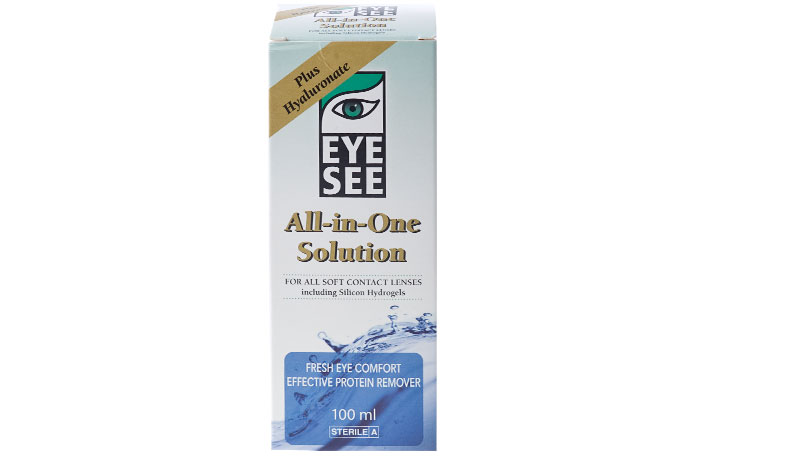 Eye See All in One solution with Hyaluronate  100 ml