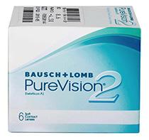 PureVision® 2 HD 6 buc. +  Lentile GRATUITE (2 buc)