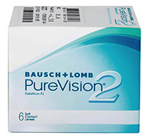 PureVision 2 HD 6 buc. + Lentile de contact GRATIS (la 2 cutii)