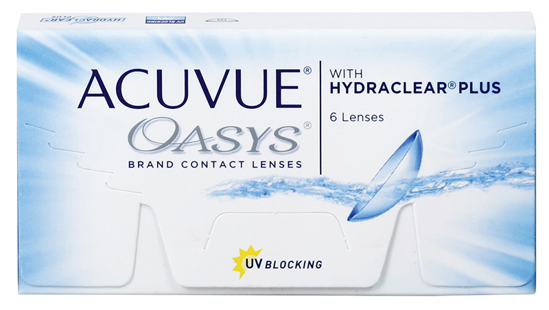 Lichidare Stoc - Acuvue® Oasys cu Hydraclear® Plus 6 buc.