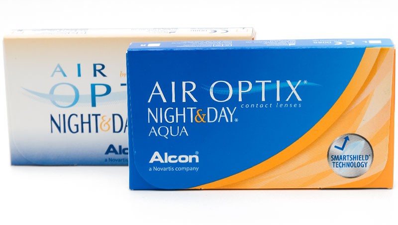 Air Optix® Night & Day® Aqua 6 buc. + Lentile GRATUITE! (pentru 2 pachete)