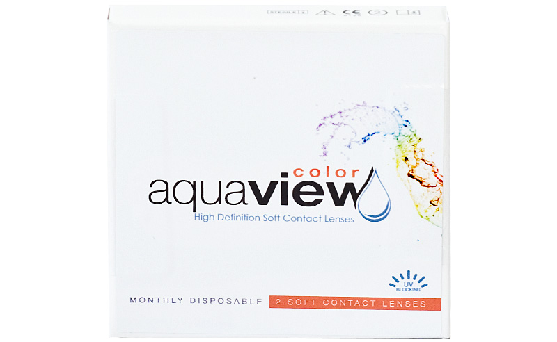 AquaView Color 6 buc. 0,00D