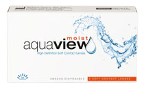 AquaView Moist 2 weeks 6 buc.