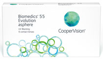 Biomedics 55 Evolution™ 6 buc. - puteri pozitive