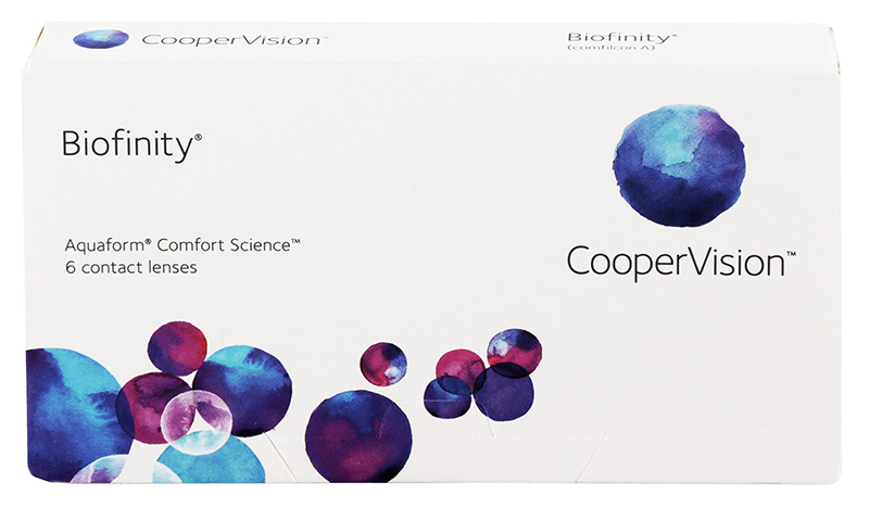 Biofinity 6 buc. + Lentile de contact GRATIS (la 2 cutii)