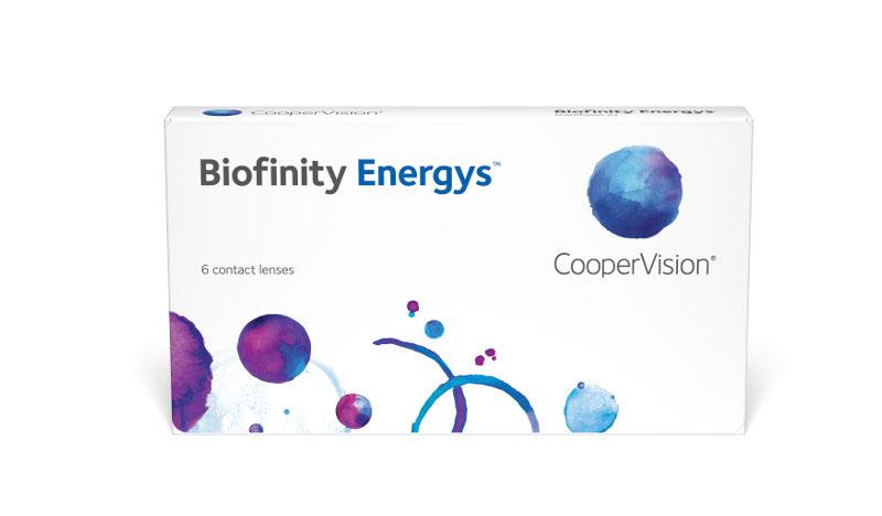 Biofinity Energys 6 buc. + Lentile GRATUITE! (pentru 2 pachete)