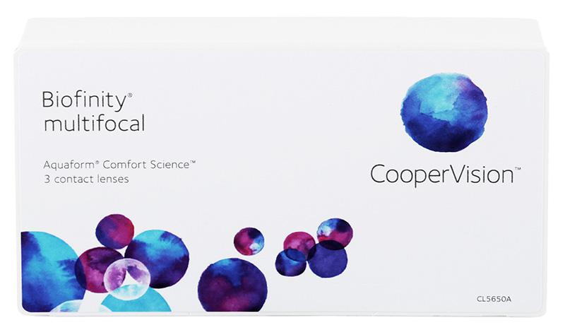 Biofinity Multifocal 3 buc. N