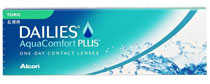 Dailies AquaComfort Plus Toric 30 buc.