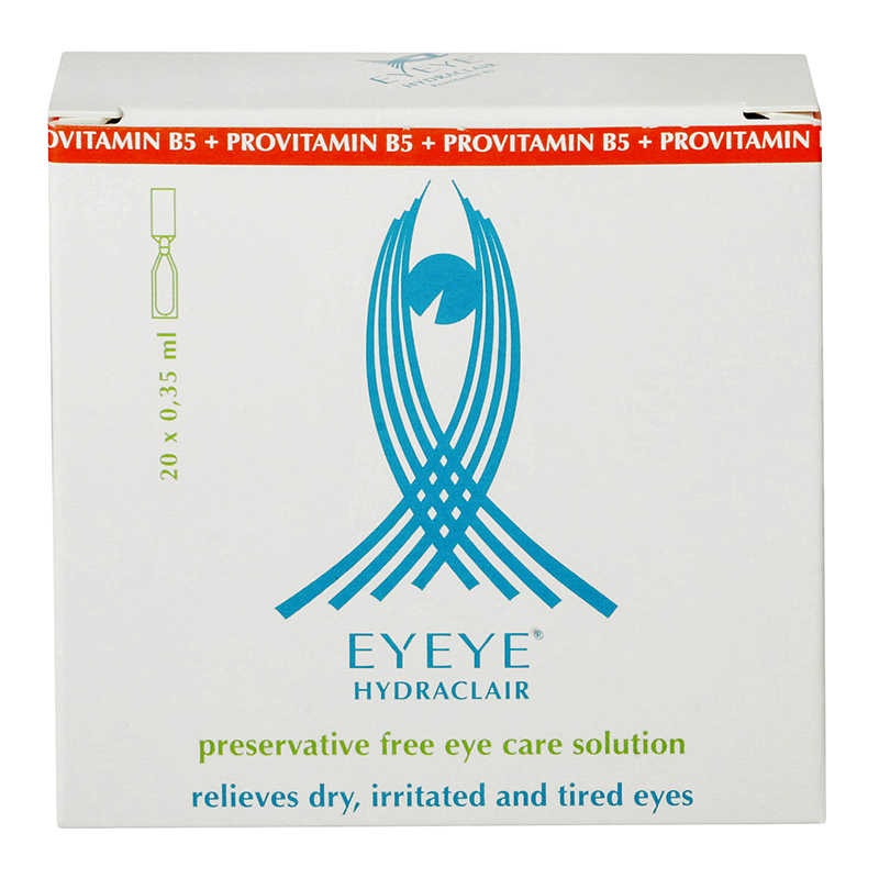 Eyeye Hydraclair™ cu provitamina B5 20 x 0.35 ml