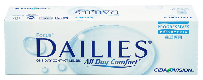 Focus® Dailies® All Day Comfort Progressives 30 buc.