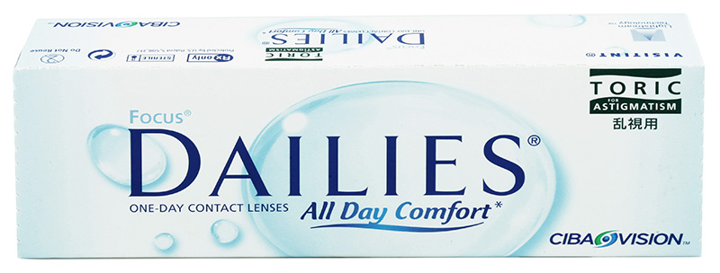 Focus® Dailies® All Day Comfort Toric 30 buc.
