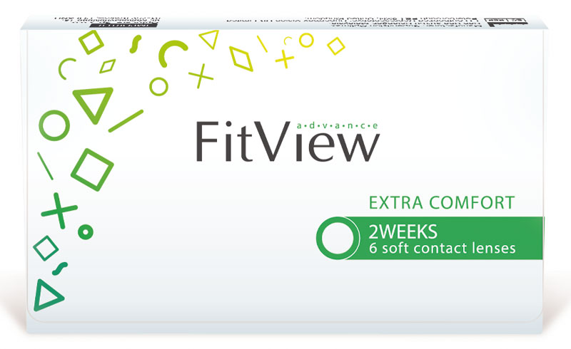 FitView Advance 2 weeks 6 buc.