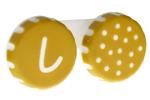 Recipient pentru lentile de contact cu buline