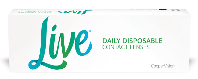 Live Daily Disposable 90 buc.