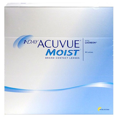 1-DAY ACUVUE® MOIST 90 buc.