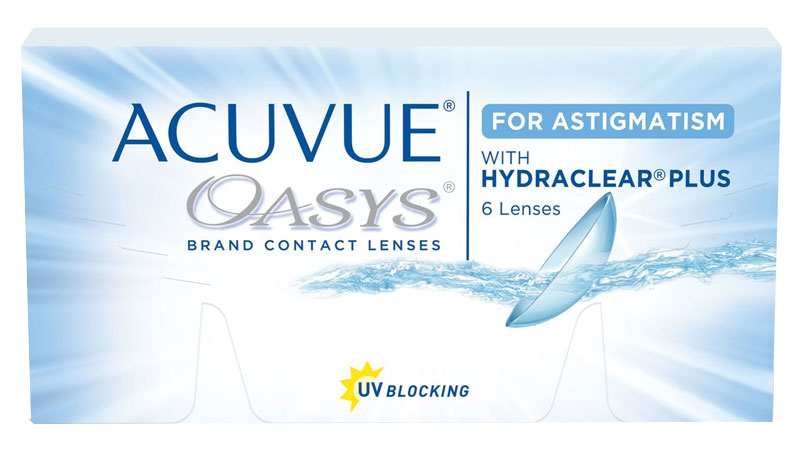 ACUVUE® OASYS for ASTIGMATISM 6 buc.