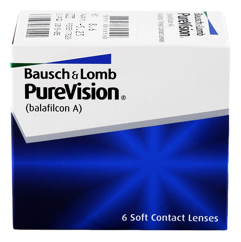 PureVision 6 buc. + solutie gratuita (la 2 cutii)!