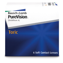 PureVision® Toric 6 buc.