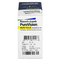 PureVision Multifocal 6 buc. +   O cana Gratis (la 2 cutii)