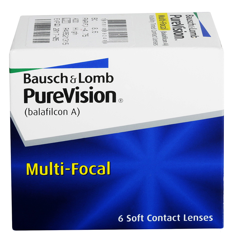 PureVision® Multifocal 6 buc.